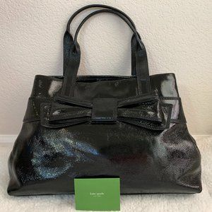 Kate Spade Maryanne Black Patent Leather Tote Bag